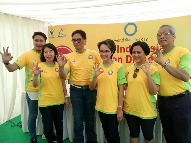 Eyes on Diabetes; Yuk, Kampanyekan Gerakan Indonesia LawanDiabetes