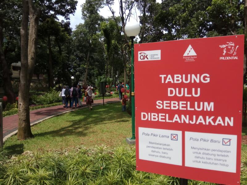 Taman Literasi Prudensial, Hadirkan Taman Edukasi Keuangan